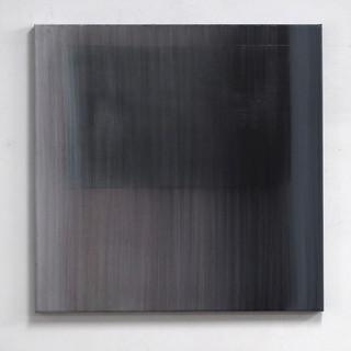 """Gianluca Cosci """"Veiled #9"""" 2020. Oil on canvas 80 x 80 cm"""