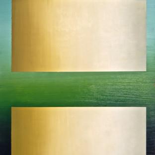 "Gianluca Cosci ""Double Negative"" 2015. Oil on canvas.  80 x 60 cm."