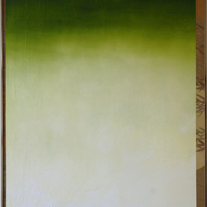 Gianluca Cosci Untitled #3 2012 Acrylic on found painting 153 x 122 cm