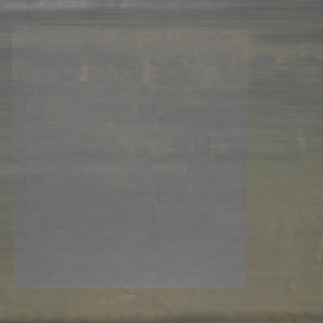 "Gianluca Cosci ""Whitewashing #11"" 2019. Oil on canvas 60 x 60 cm."