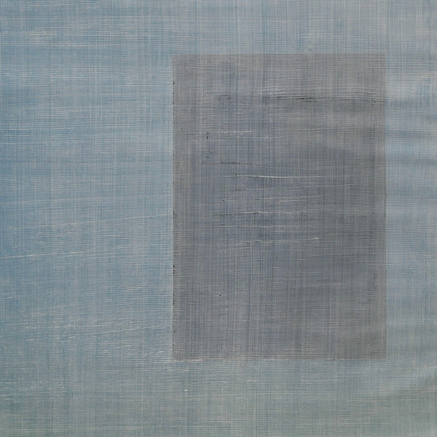 "Gianluca Cosci ""Whitewashing #41"" 2019. Oil on canvas 60 x 40 cm."
