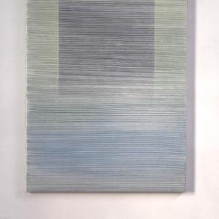 "Gianluca Cosci ""Whitewashing #2"" 2020. Oil on canvas.  140 x 100 cm."
