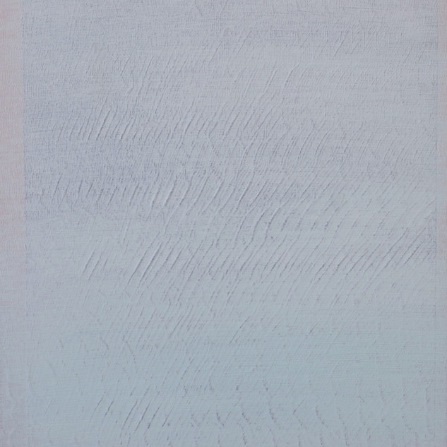 "Gianluca Cosci ""Whitewashing #2"" 2014. Oil on canvas on cardboard.  50 x 35 cm."