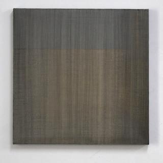 """Gianluca Cosci """"Veiled #3"""" 2020. Oil on canvas 60 x 60 cm."""