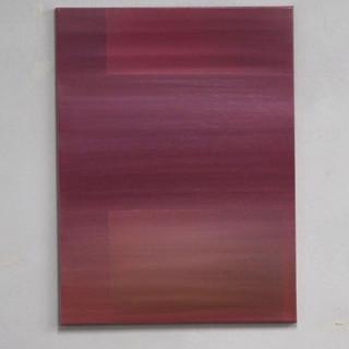 """Gianluca Cosci """"Veiled #6"""" 2020. Oil on canvas 80 x 60 cm."""