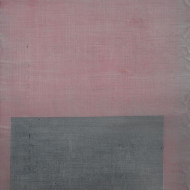 "Gianluca Cosci ""Whitewashing #3"" 2019. Oil on canvas 80 x 70 cm."