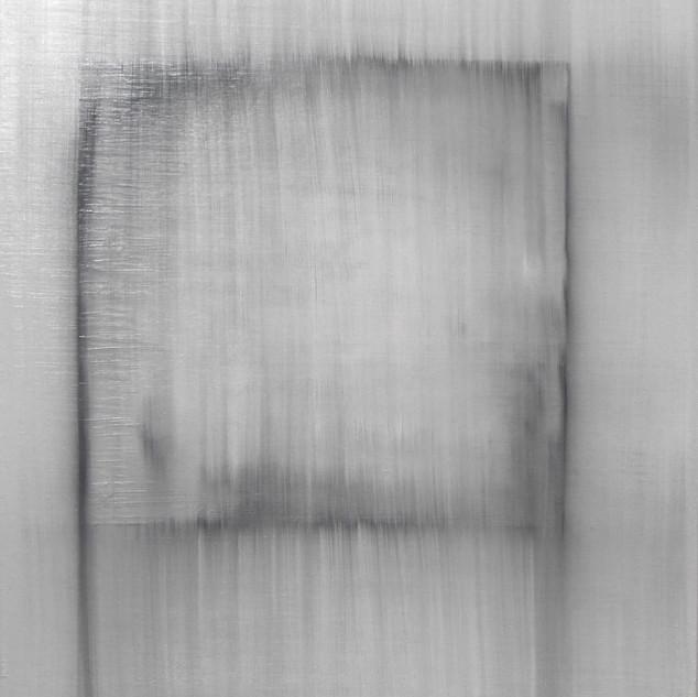 "Gianluca Cosci ""Whitewashing #1"" 2019. Oil on canvas 150 x 100 cm."