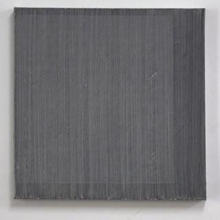 """Gianluca Cosci """"Veiled #2"""" 2020. Oil on canvas 60 x 60 cm."""