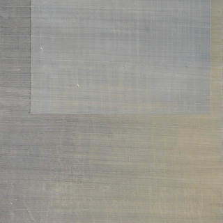 "Gianluca Cosci ""Whitewashing #40"" 2019. Oil on canvas 40 x 20 cm."