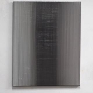 """Gianluca Cosci """"Veiled #4"""" 2020. Oil on canvas 100 x 80 x cm."""