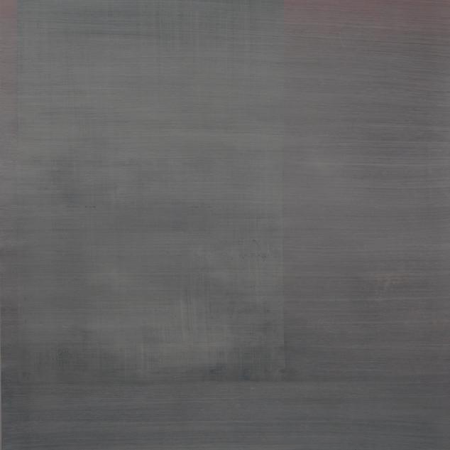 "Gianluca Cosci ""Whitewashing #30"" 2019. Oil on canvas 60 x 40 cm."