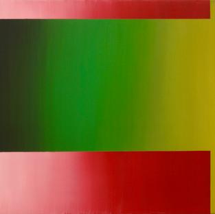 "Gianluca Cosci ""Double Negative"" 2015. Oil on canvas.  60 x 80 cm."