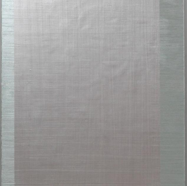 "Gianluca Cosci ""Whitewashing #3"" 2018. Oil on canvas 150 x 100 cm."
