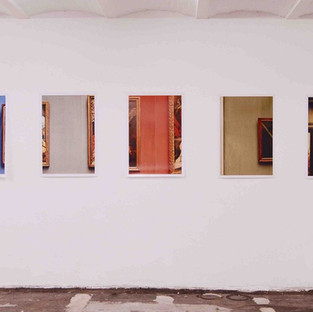 Gianluca Cosci Old Masters series, Installation view. Res Ars, Brussels. 2017. Fujiflex photographic prints, 80 x 60 cm each.