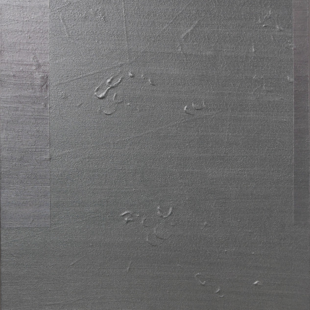 "Gianluca Cosci ""Whitewashing #5"" 2018. Oil on canvas 140 x 90 cm."