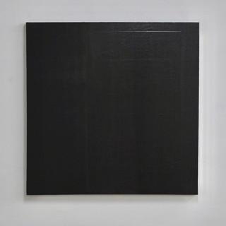 """Gianluca Cosci """"Veiled #16"""" 2020. Oil on canvas 100 x 100 cm"""