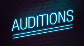 Auditions for new and returning students June 1-4