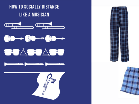 Order ACHS Music Loungewear through 9/18