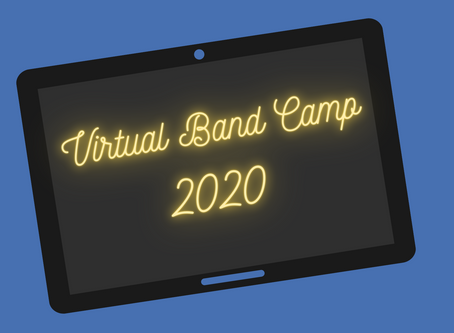 Virtual Band Camp 2020 Schedule - Week 1