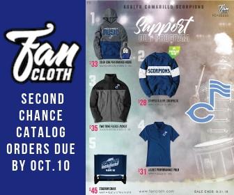 Last chance to order FanCloth spirit wear