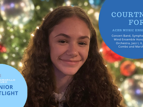 Senior Spotlight: Courtney Forde