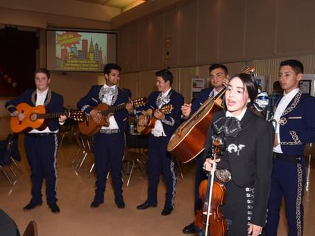 Mariachi Alacran plays at Honorary Service Awards