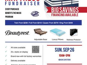 Mattress Fundraiser September 26th!