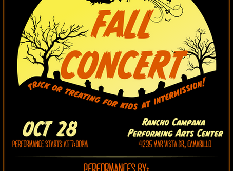 Fall Concert scheduled for Oct. 28 at RCHS