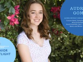 Senior Spotlight: Audrey Gomes
