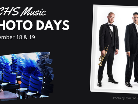 Music Dept Photo Days 11/18-11/19