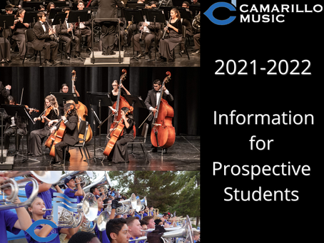 Information for prospective 2021-2022 students now available
