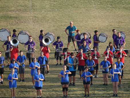 Music students kickoff March-Off Capital Campaign
