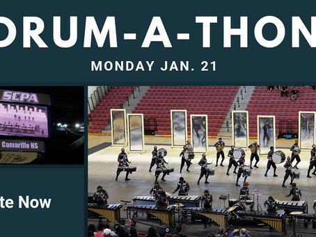 Drumline plans Drum-a-thon for Jan. 21
