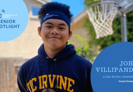 Senior Spotlight: John Villapando