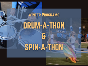 Support Drum-a-Thon and Spin-a-Thon, taking place in March