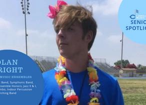 Senior Spotlight: Nolan Wright