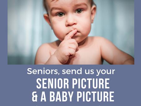 Seniors, send us your photos
