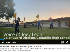Winter Guard's 'To Be With You' Featured in VC Star