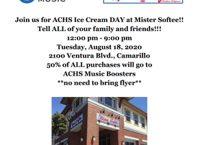 Mister Softee Fundraiser, Tuesday, August 18