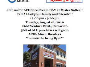 Mister Softee Fundraiser, Tuesday, August 18