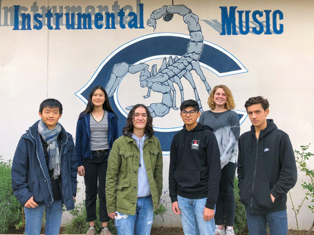 Six ACHS Music students earn spots in honor bands