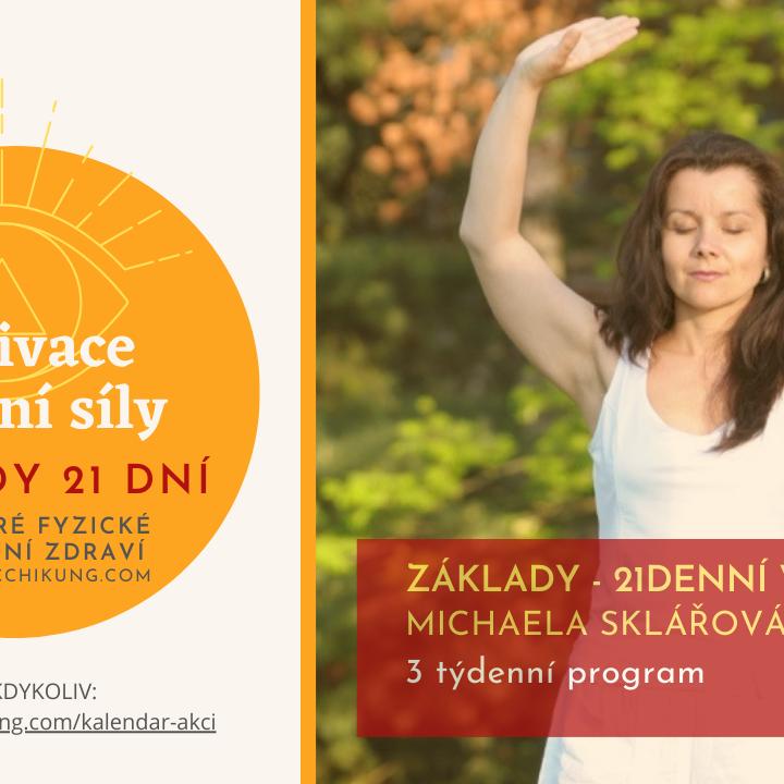 Aktivace životní síly Základy - 21denní výzva (3 týdenní program) PŘIHLÁŠENÍ KDYKOLIV