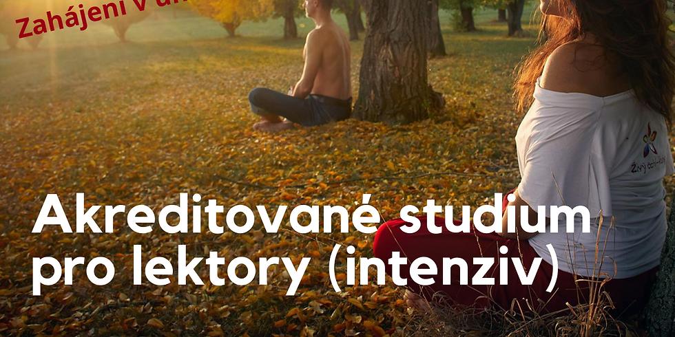 Akreditované studium ročník 2022 - intensiv