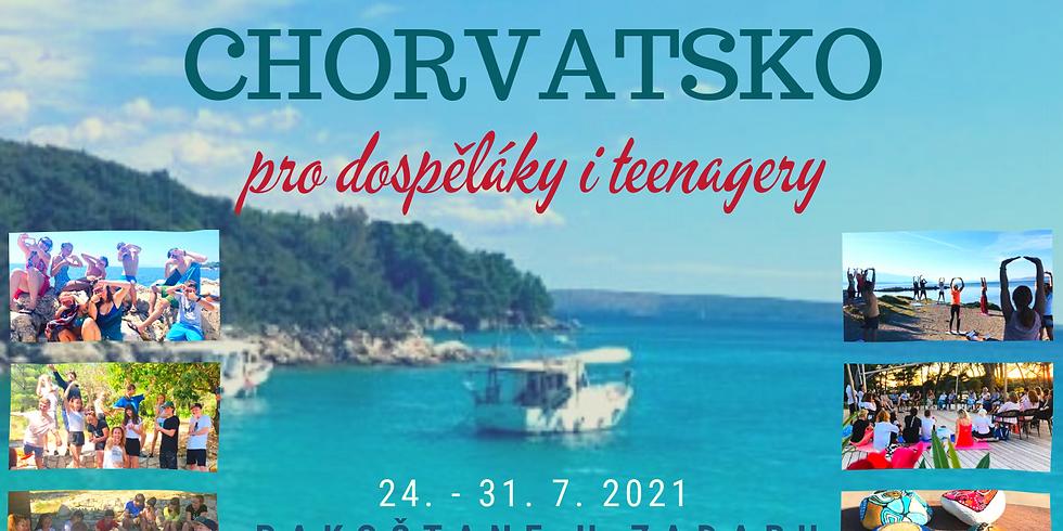 Týden u moře pro dospěláky i teenagery
