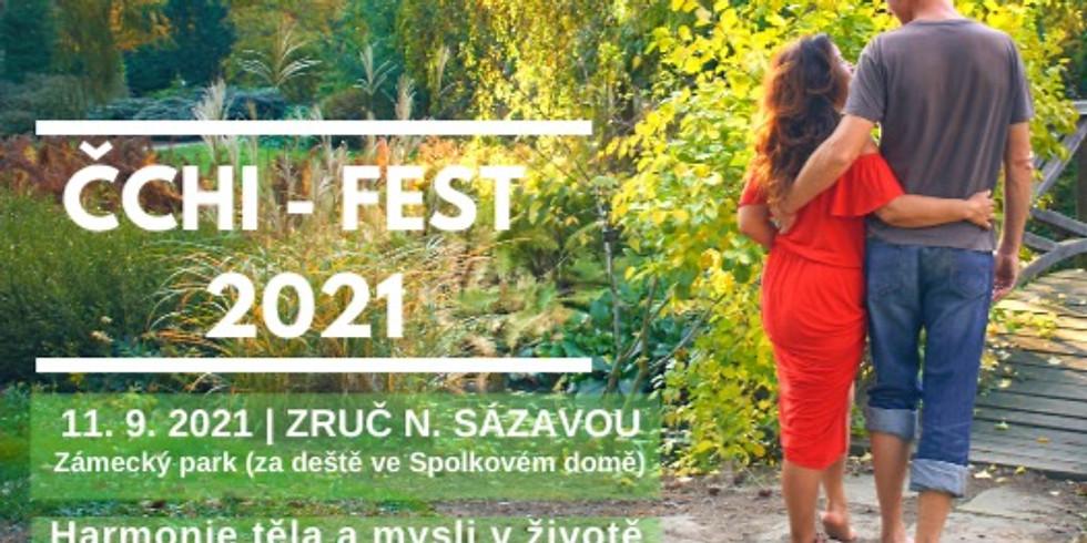 Čchi-fest 2021 - festival o životní síle