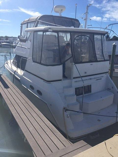 2000 Carver 356 Aft Cabin w re-powered Crusader 454 LXi engines