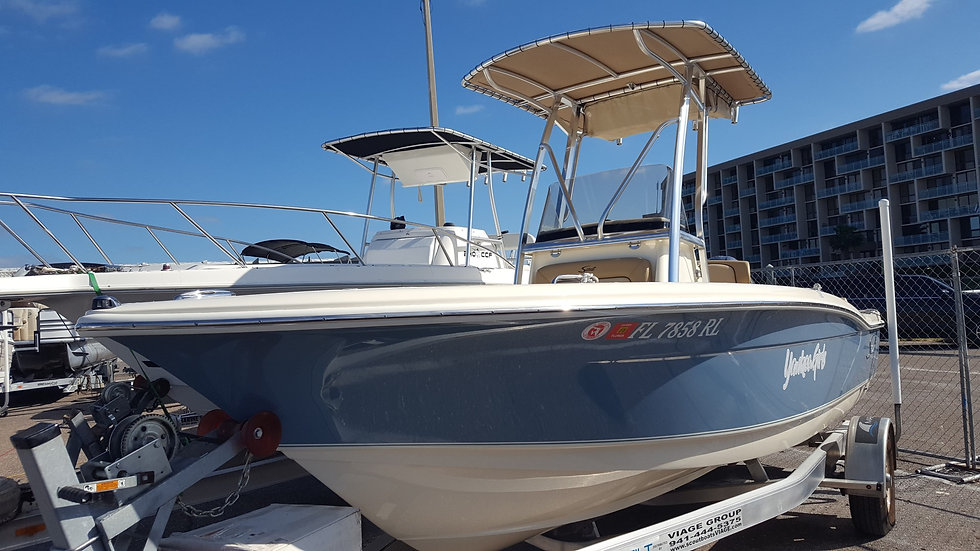 2018 Scout 195 Sport Fish