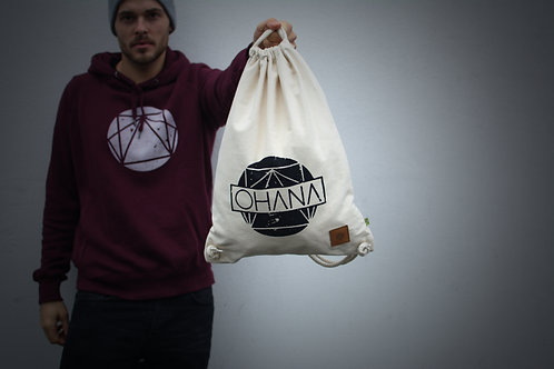 RAW Organic Gym Sack Natural