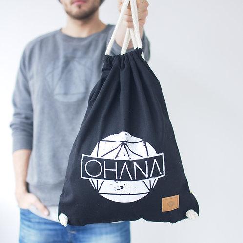 RAW Organic Gym Sack Black