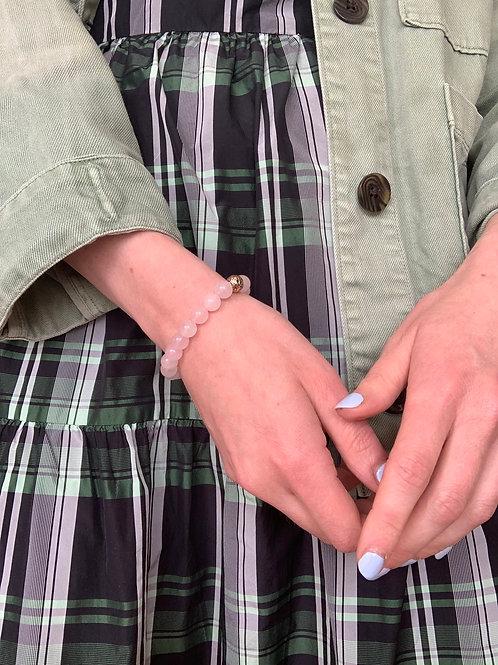 Good Vibes Beads in Rose Quartz